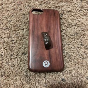 iPhone Case w/Loopy Back Grip Fits iPhone 6/7/8/SE